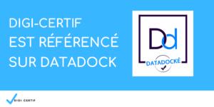 Digi-Certif est référencé au sein du DataDock !